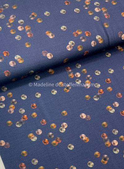 WATER COLOR dots - viscose jersey