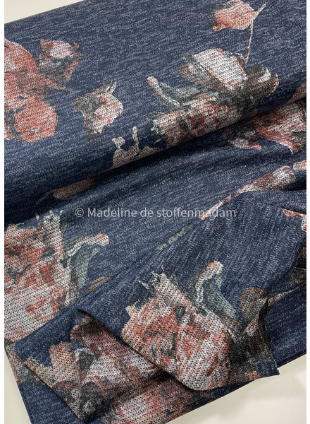 gebreide tricot met lurex