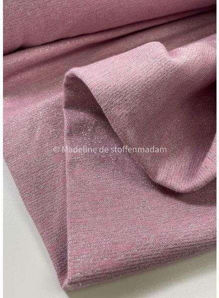 Coupon 200 cm - pink glamour sweat