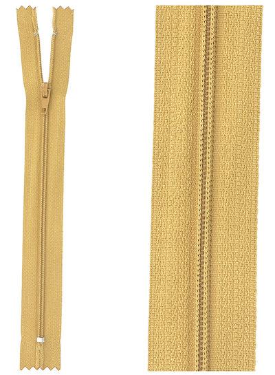 close end zipper - mustard color 508