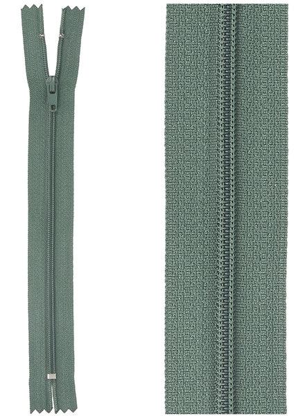 klassieke rits / rokrits - groen  kleur 530