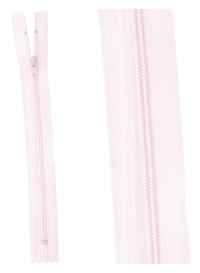 klassieke rits / rokrits - roze kleur 513