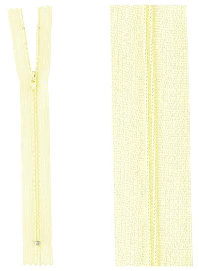 close end zipper -lemon yellow color 503