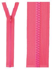 open end zipper  -  fuchsia color 516