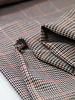 A La Ville pied the poule lurex - pants fabric