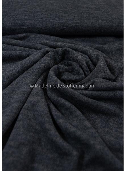 grey - soft stretch knitted fabric