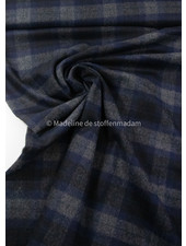 navy eros - woolen coat fabric