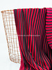 La Maison Victor red black - pleated fabric