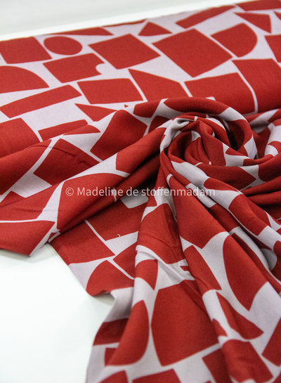 Swafing be cold  red - viscose