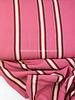 Swafing pink/burgundy stripes - viscose