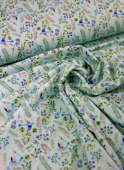 mint little spring - tricot