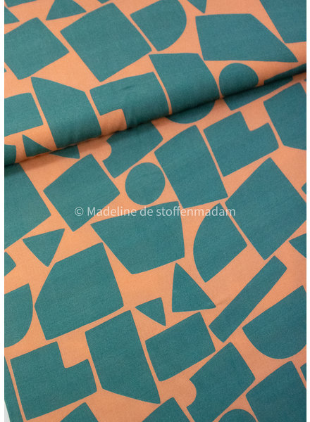 Swafing mint abrikoos be cold - viscose