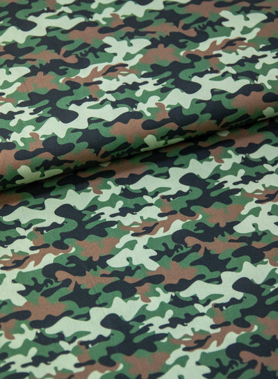 Swafing beautiful army print - cotton