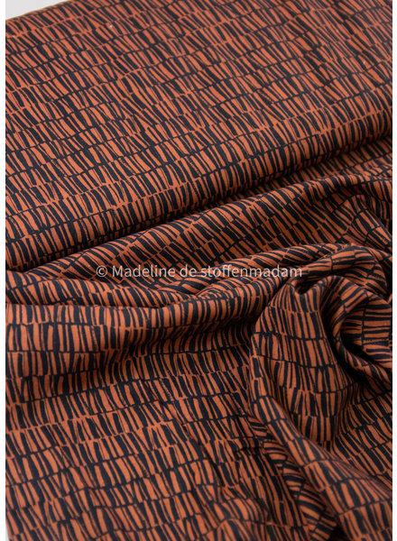 Swafing copper silas - viscose