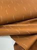 cognac stripes - tetra double gauze - gots label