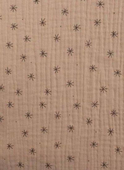 zalm oudroze doodle stars - tetra