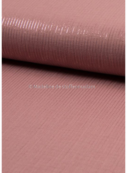 dusty pink - lurex tetra
