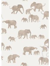 Family Fabrics Elephants - french terry