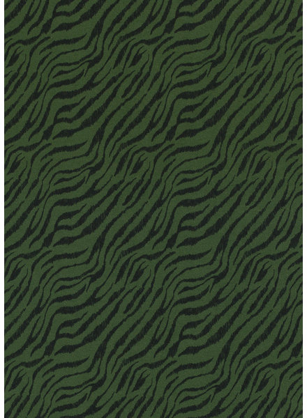khaki zebra - jersey