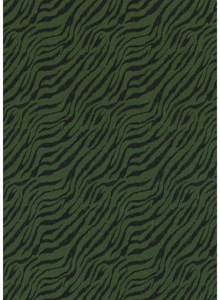khaki zebra - tricot