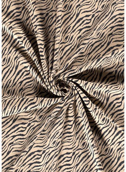 beige zebra - jersey