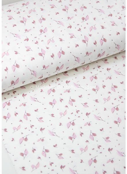 roze kleine blaadjes - tricot