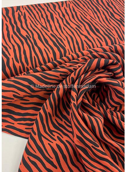 roest zebra - viscose