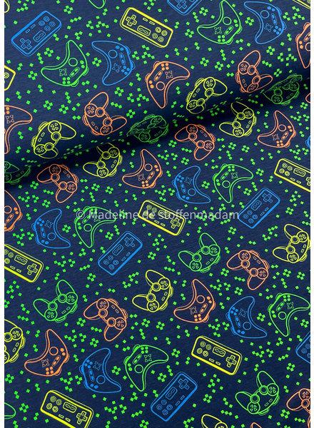 neon game console - tricot