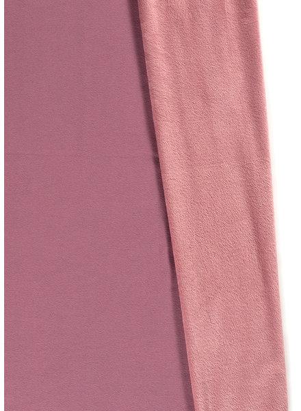 dusty pink  - happy fleece