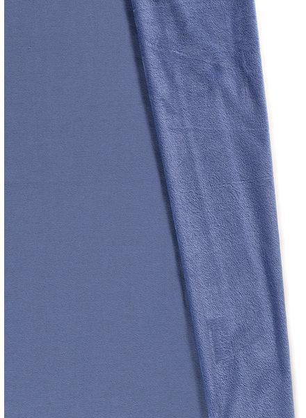 denim blue - happy fleece
