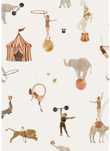 Family Fabrics circus - jersey