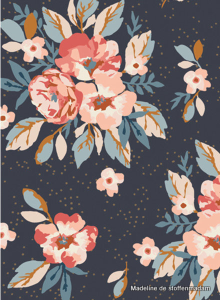 ART GALLERY FABRICS Homebody bouquet - cotton