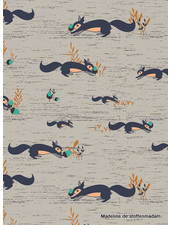 ART GALLERY FABRICS Fusion Little Forester - squirrell - cotton