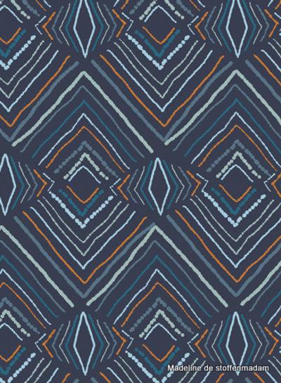 ART GALLERY FABRICS Fusion Little Forester - abstract - katoen