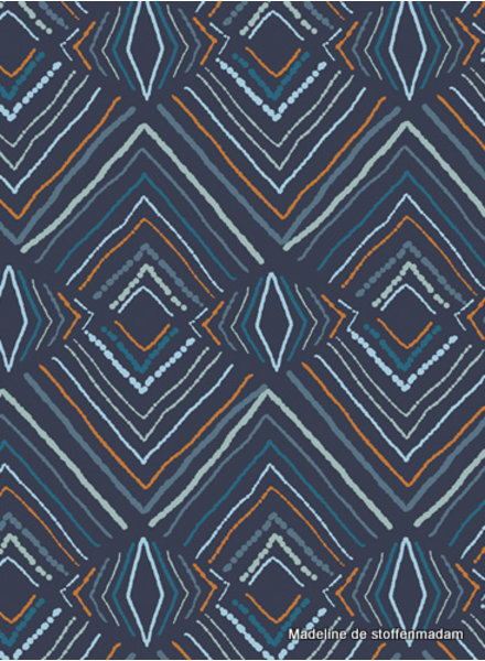 ART GALLERY FABRICS Fusion Little Forester - abstract - cotton