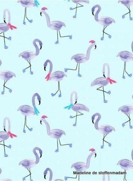 Chill Out - Freestyle Flamingo - katoen
