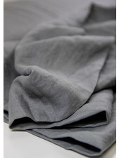 grijs - soepelvallend 100% linnen