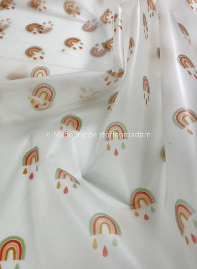 katia Rainbow drops - rain coat fabric