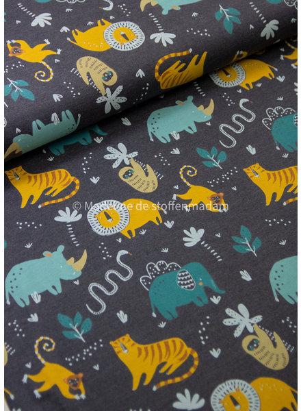 indigo wild animals - jersey
