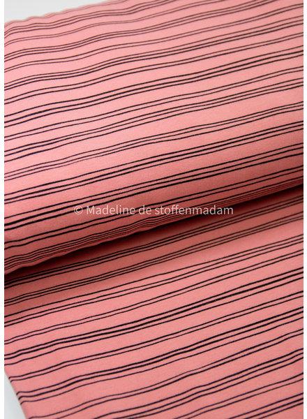 pink - soft sweat - GOTS label