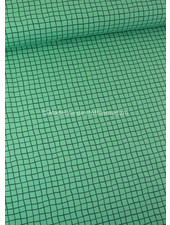 Swafing groen ruitjes - tricot