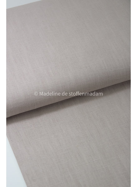 100% solid linen  nude - 8 oz