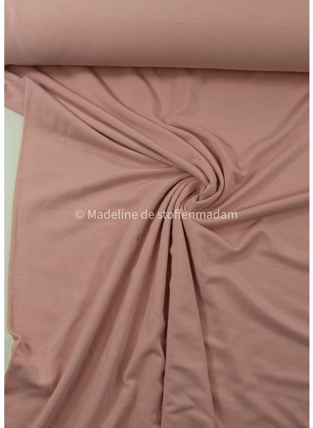 dusty pink - supple bamboo jersey