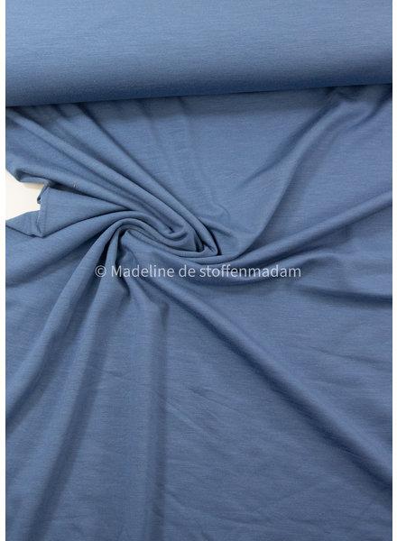 donker indigo - bamboe tricot