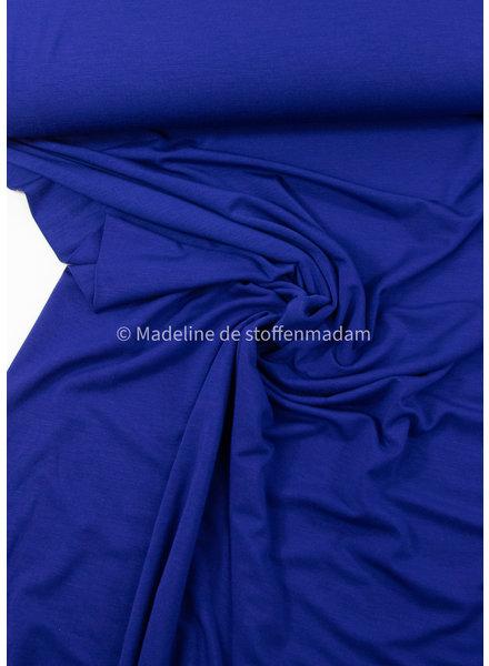 M kobaltblauwe - bamboe tricot