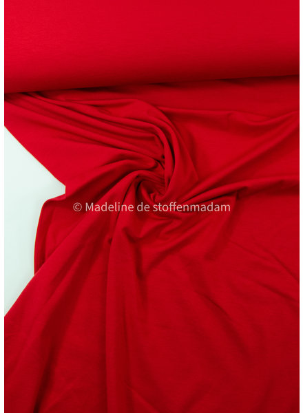 red - bamboo jersey