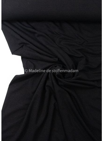 zwart - heel soepelvallende bamboe tricot
