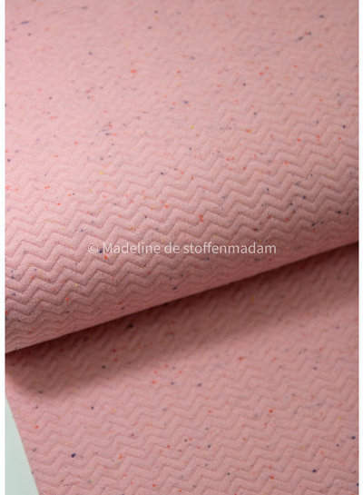 pink - chevron sweater