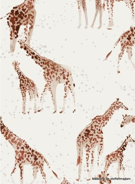 Family Fabrics Giraffe -jersey