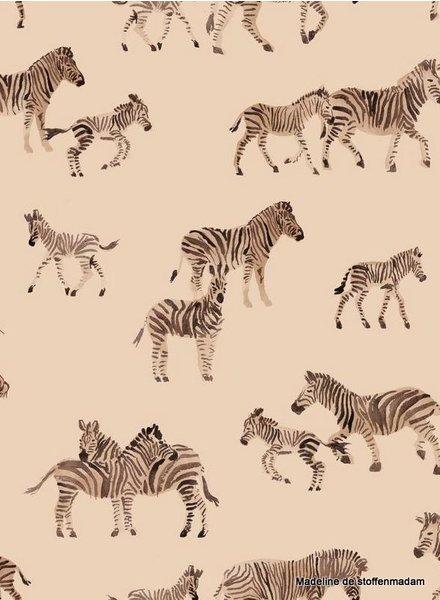 Family Fabrics Zebra - jersey